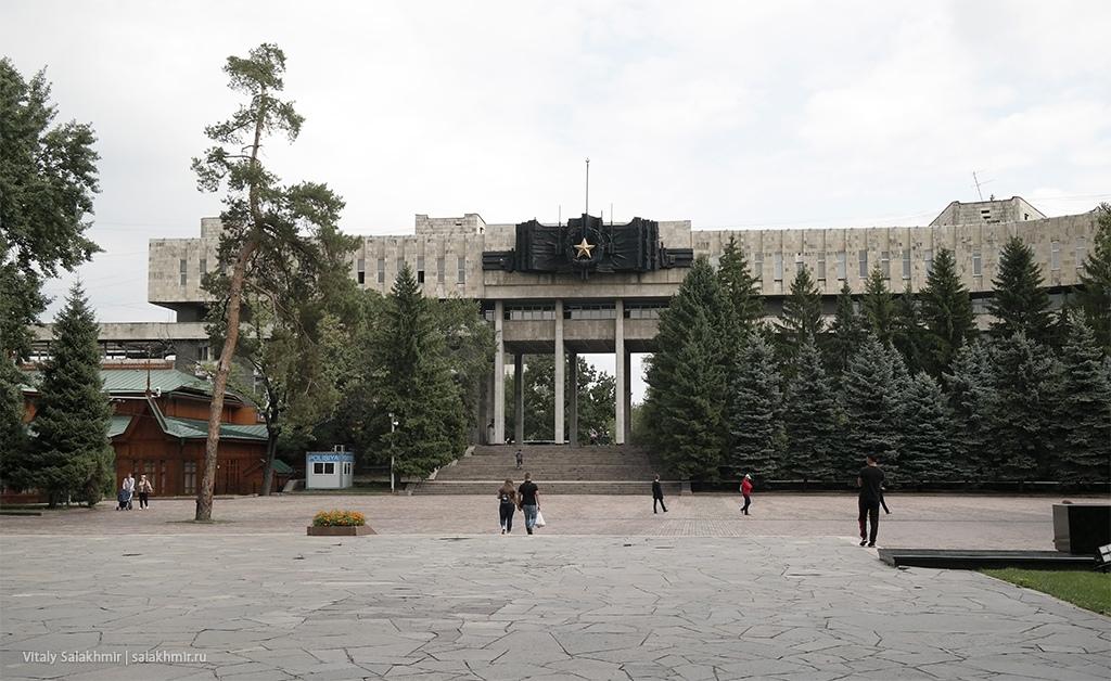 Дом офицеров, крупный план. Алматы 2019