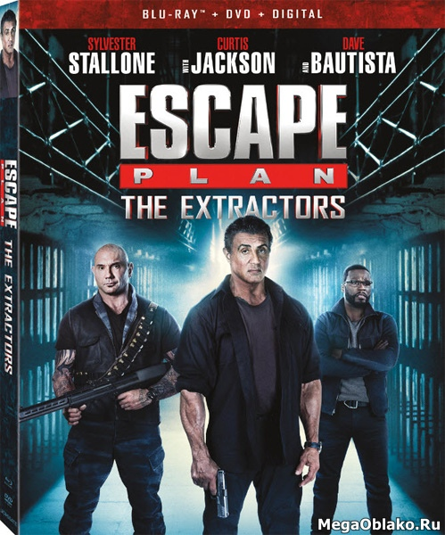 План побега 3 / Escape Plan: The Extractors [Extended Cut] (2019/BDRip/HDRip)