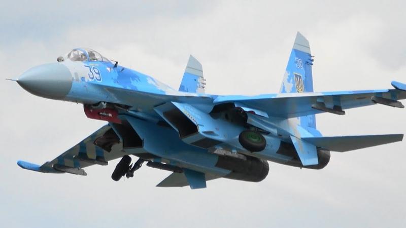 RIAT 2019 Su-27 Ukrainian Air Force The Royal International Air Tattoo
