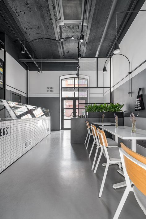 Cafe SEEDS - Moscow / Russian Federation