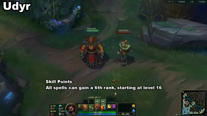 [Eldimarix] New Illaoi/Pyke/Udyr Changes on PBE - League of Legends