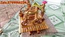 Tiểu cảnh ống tre, để bàn làm việc, giã gạo,xay bột,xe đạp bamboo,Decorative