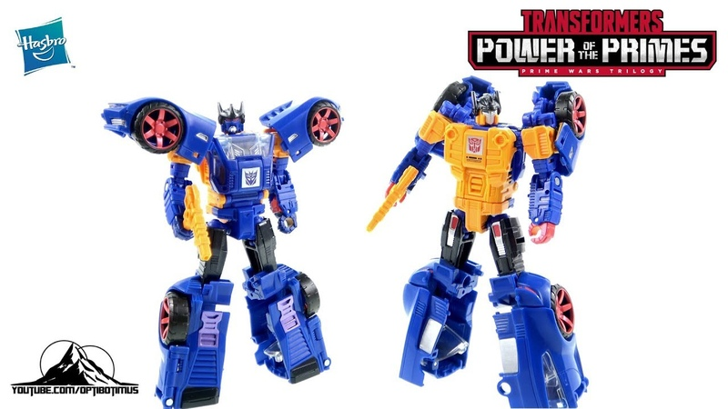 Optibotimus Reviews Transformers Prime Wars Trilogy Deluxe Class PUNCH COUNTERPUNCH