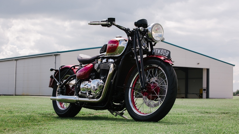 Triumph Bobber Build Off 2019: Triumph Bobber в стиле Speed Twin