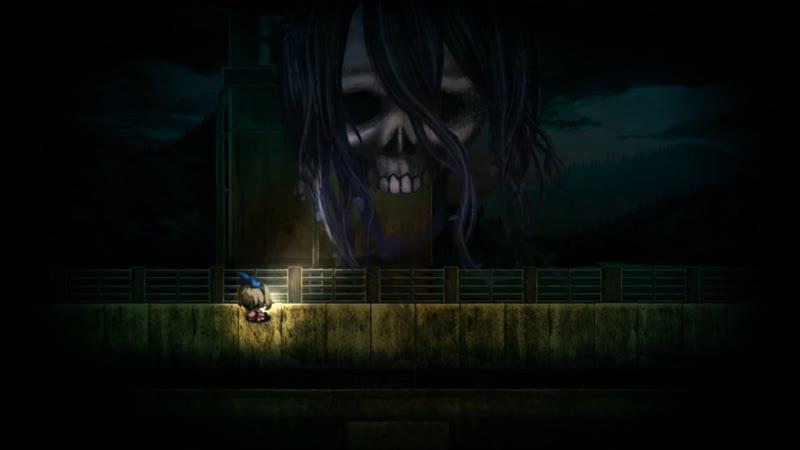 Играем Yomawari Midnight Shadows PC Win Часть 3