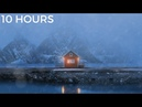 Winter Lake House - Blizzard Snow Storm Cold Strong Wind Sounds for Relaxing, Deep Sleep, Insomnia