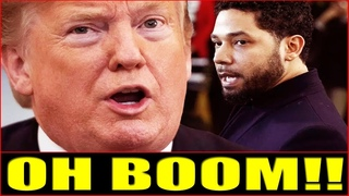 OMG! IT'S BIGGER THAN YOU KNOW!! Trump Just DROPS THE HAMMER On Jussie Smollett! COMING ALL OUT NOW!