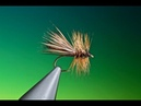 Tying a Elk Hackle caddis with Barry Ord Clarke