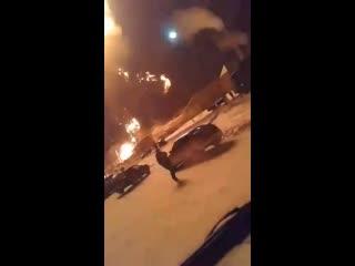 В городе Сатка Челябинской области взорвалась автозаправка. - Курить вредно! Курить рядом