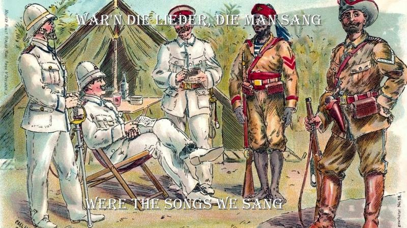 Schön war die Zeit für uns in Afrika best colonial version english translation