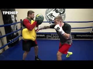 Учимся бить сложные серии ударов _ Для чего они боксеру