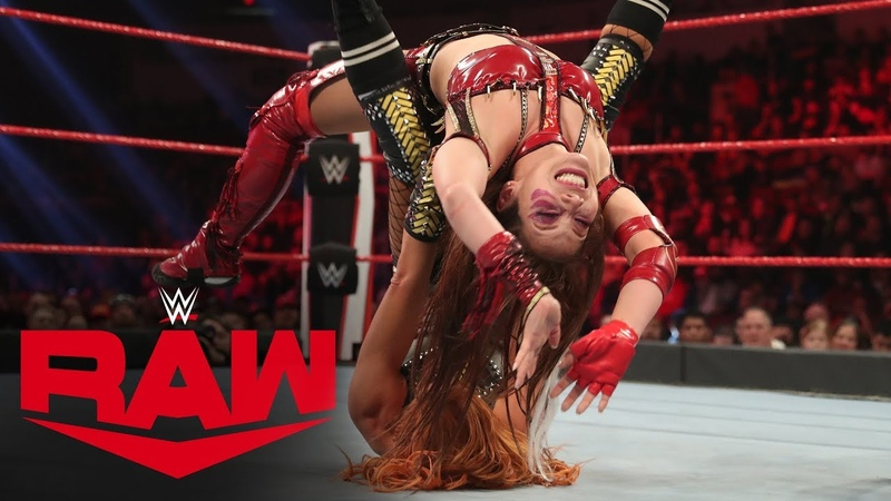 Becky Lynch vs Kairi Sane Raw Jan 20 2020