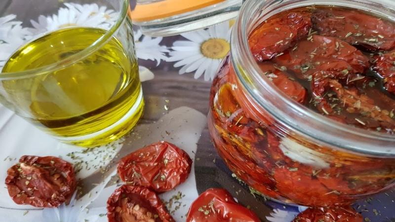 Готовим домаВяленые помидоры, просто и оооооочень вкусноЖивём в деревне