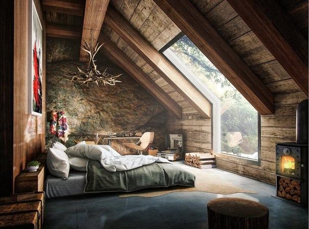 Какая красота в дачном доме
