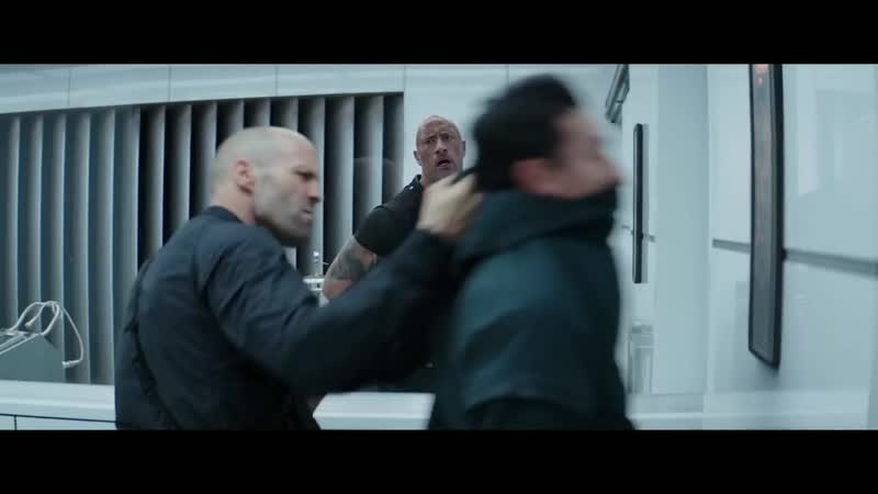 Fast and Furious Hobbs and Shaw Access Denied Scene Retinal Scanner