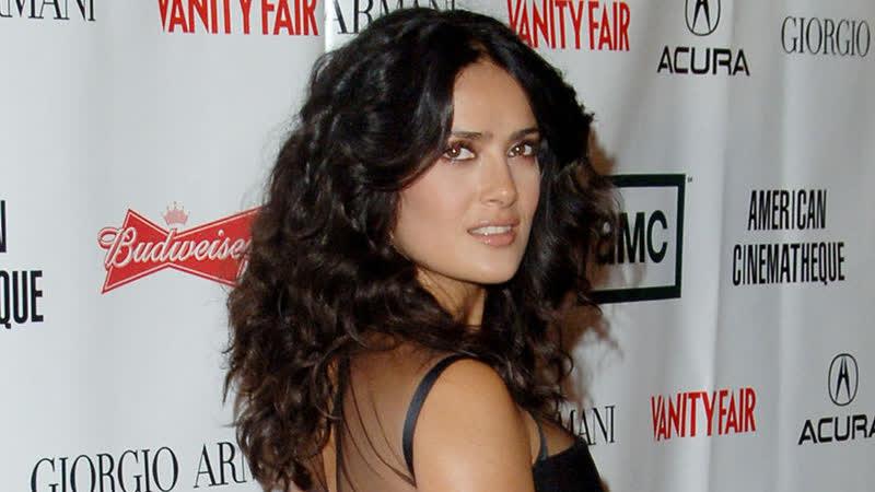 Сальма Хайек на церемонии «American Cinematheque Award» в Венеции (14/10/2006)