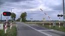 Spoorwegovergang Bedlno (PL) Railroad crossing Przejazd kolejowy
