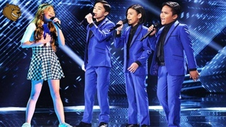 ANGELICA HALE AND TNT BOYS ( I Will Always Love You )