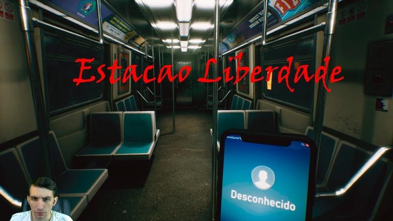 Подъехали скримерки в коротенькой P T ► Estacao Liberdade Станция свободы
