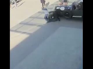 В уфе участник международного ралли на ретро-bentley сбил пешехода