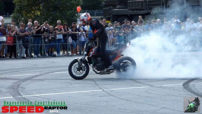 50 Jahre Salzburgring KTM Stuntshow mit Rok Bagoros / streetfighterz