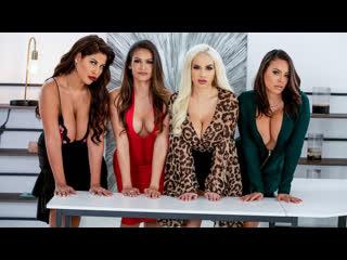 Bridgette B, Katana Kombat, Luna Star, Victoria June - Office 4-Play Latina Edition - Sex Big Tits Ass, Porn