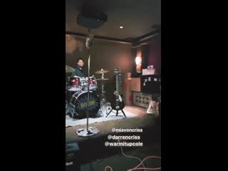 VIDEO Darren Criss, Cole Ramstad and Rio via Camila Costas IG Story