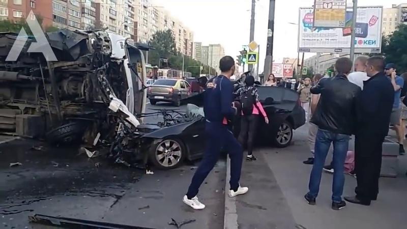Жёсткие ДТП и страшные аварии 2019 года 2 БЕЗ МУЗЫКИ
