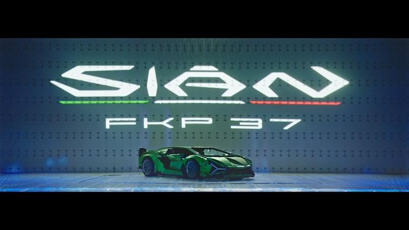 The stunning LEGO Technic Lamborghini Sián FKP 37