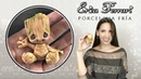 Groot | Guardianes de la Galaxia | Clase Gratis | DIY |🐶 Erica Ferrari Porcelana Fría | Tutorial