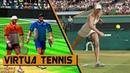 Evolution of Virtua Tennis Games 1999-2012