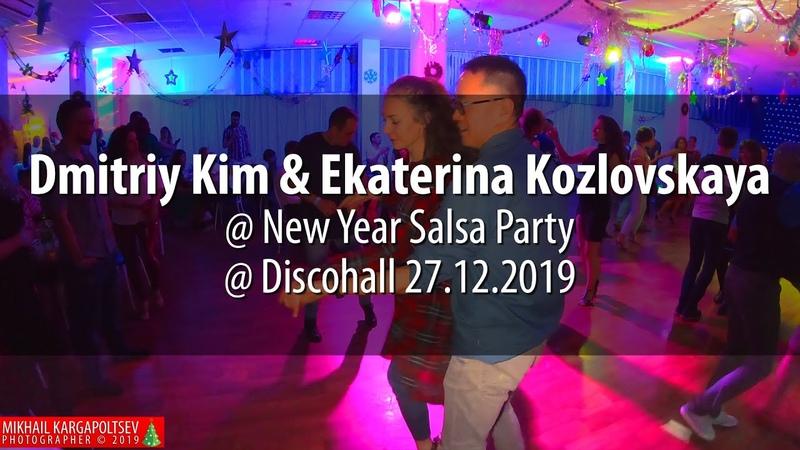 Dmitriy Kim Ekaterina Kozlovskaya @ New Year Salsa Party @ Discohall 27.12.2019