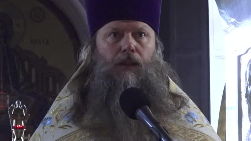 † 2019 10 09 Артемий Владимиров. «Дети, любите друг друга». св. Иоанн Богослов