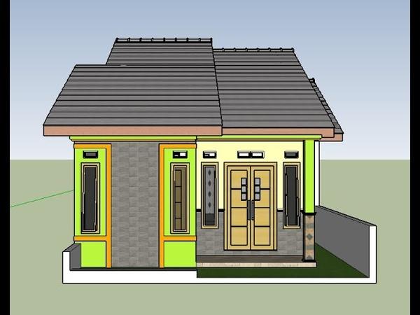 Contoh Model Terbaru Desain Rumah Minimalis Modern Lahan Di Sempit 6x9 Meter