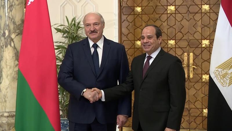 Лукашенко встретился с Абдель Фаттахом ас Сиси