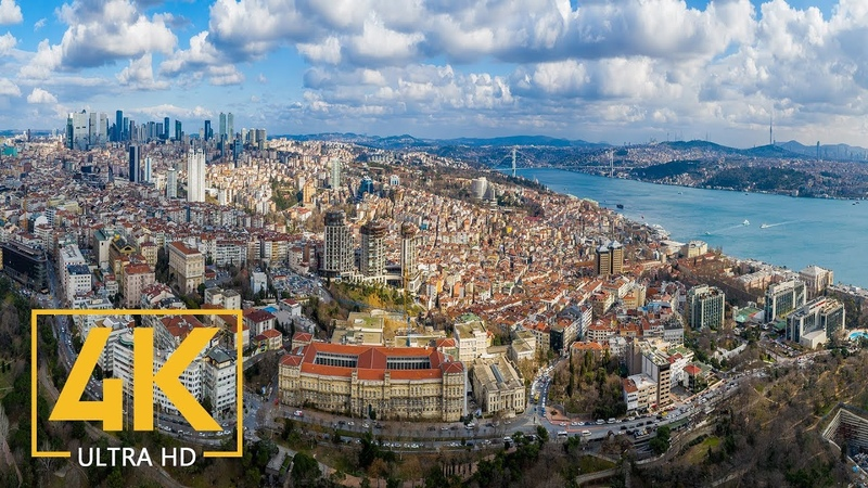 ISTANBUL A Virtual Trip to the Heart of Turkey in 4K 10 Bit Color Urban Relax Video