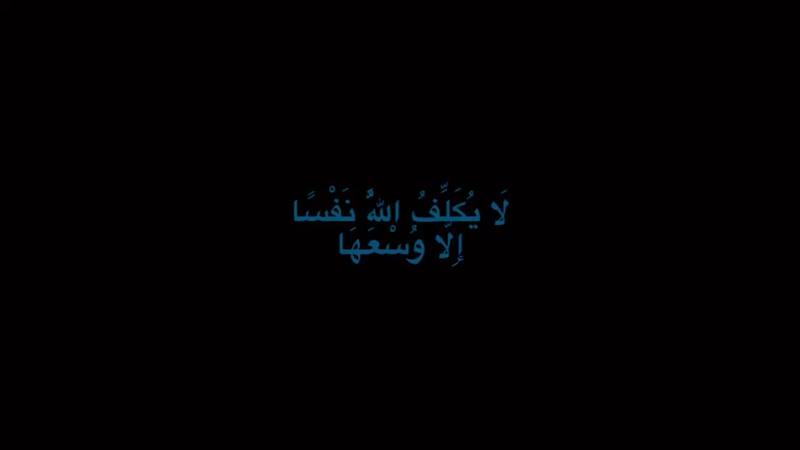 لا إله الا الله ☘️ on Instagram آمن الرس MP4 mp4