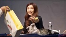 Eunji scolding her highschool fans for not studying instead went to her fansign