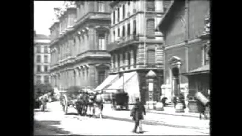 Трейлер Площадь Корделье в Лионе 1895