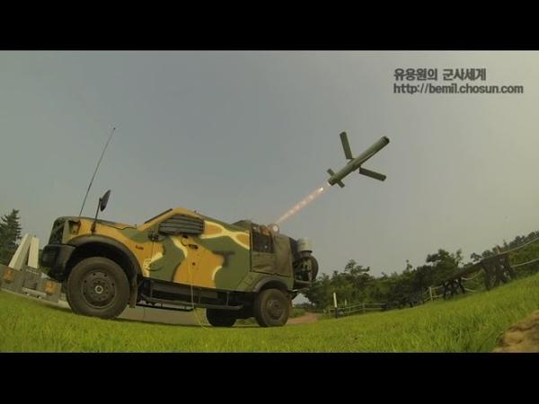 해병대 스파이크 미사일 장전에서 발사, 목표물 명중까지 전과정 최초 공개! / 해병대 제공