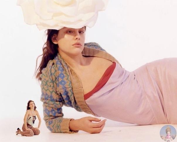 Moffy одна из первопроходцев среди моделей с необычной внешность
