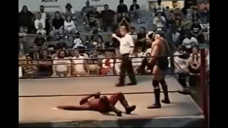 Wrestling Lord Humongous Big Boot on Kory Williams.Лорд Хьюмангус биг бут Кори Уильямсу.11DeadFace