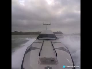 This impressive high-speed boat is impossible to capsize