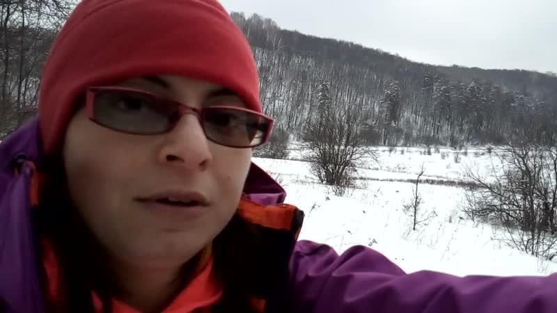 Ширяевский овраг на лыжах 11.01.2020