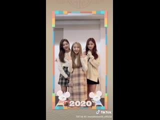[SNS] 200127 Hyunjin, Yeojin, Choerry – Happy Lunar New Year 2020  TikTok
