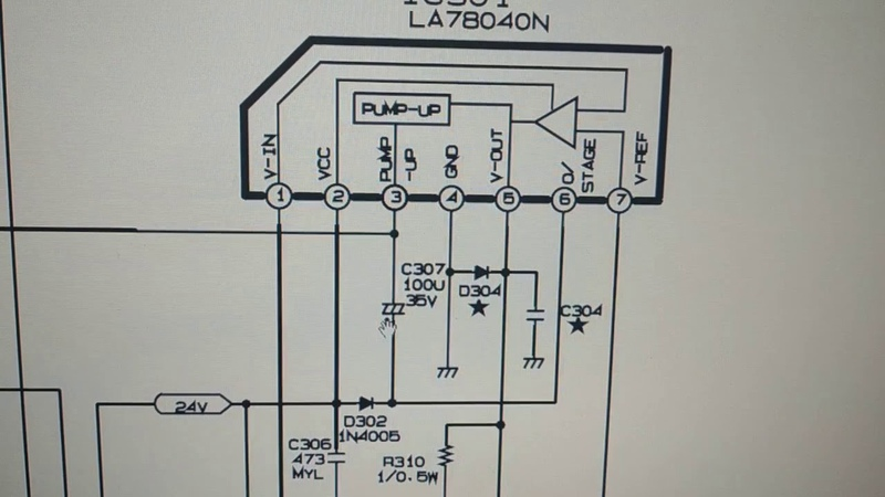 Ремонт ТВ LG 21FD1RG шасси MC 059A B Моё виденье схемы