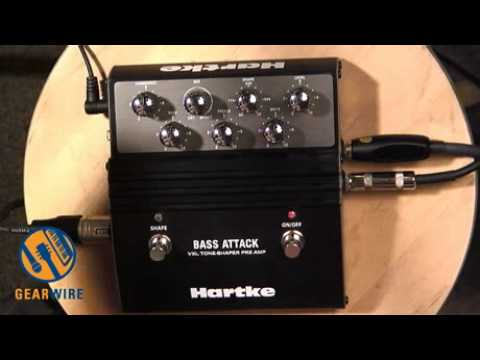 Hartke VXL Bass Attack Preamp And D.I. Does The Job Of Multiple Pedals, Is Frequently Stepped On (Vi