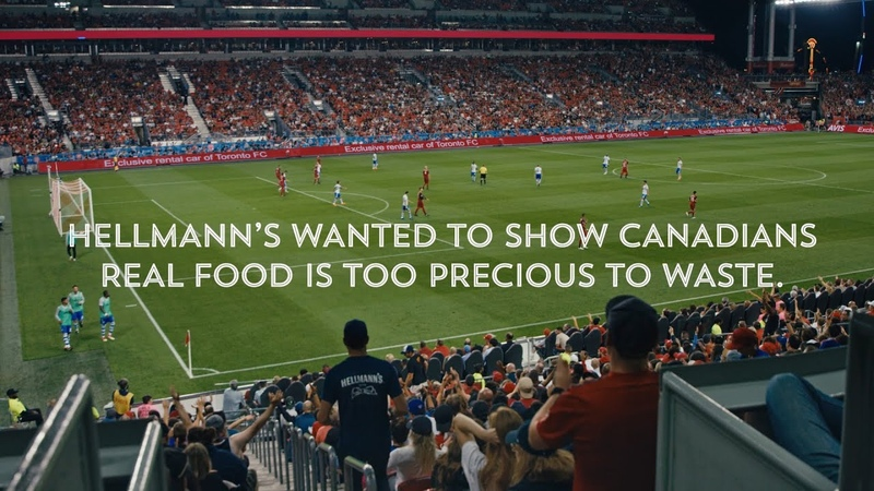 Hellmann's® Feeds a Stadium Food Waste Real Food Rescue
