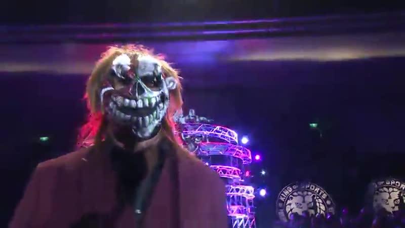 Tetsuya Naito c vs Michiael Elgin IWGP Intercontinental Championship NJPW The New Beginning In Osaka 2017