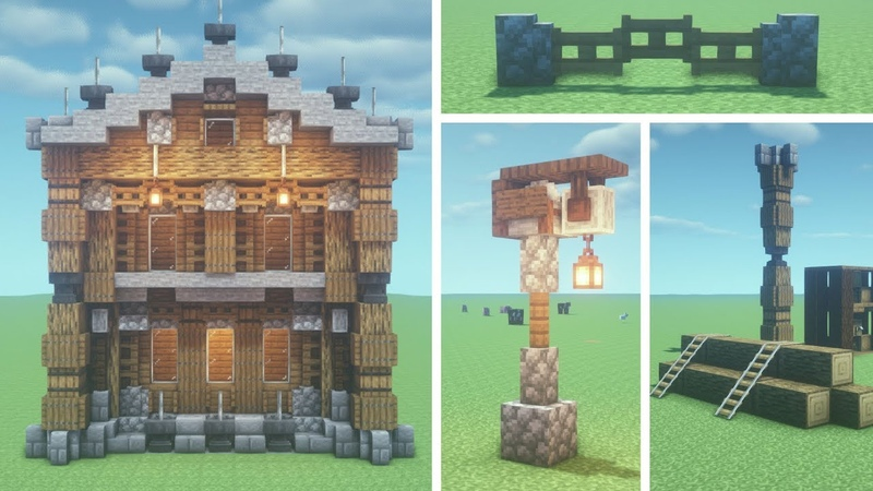 50 Minecraft Building Tips Tricks
